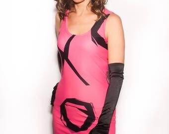XO Hot Pink Dress