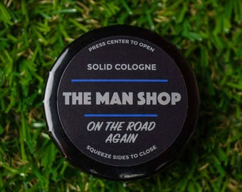 On THE ROAD AGAIN Solid Cologne The Man Shop