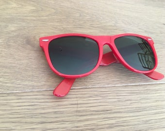 Red Ray Ban Retro Sunglasses