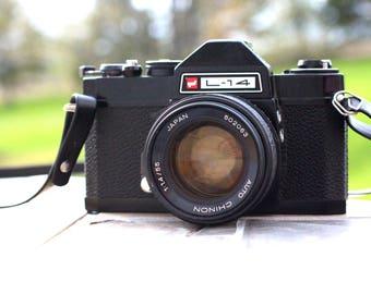 Vintage GAF L-14, Telemetric Camera, Vintage Camera, Film Camera, Retro, 35mm