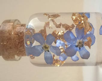 Forget Me Not Memory Pendant