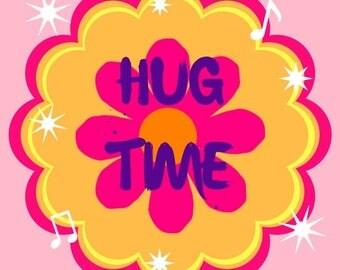 Hug Time Printable