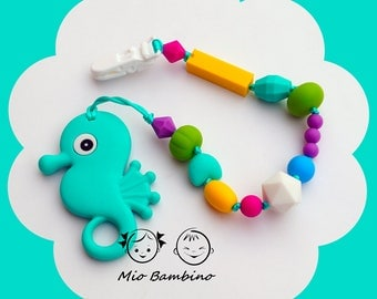 """Silicone rodent teethers """"Seahorse"""""""