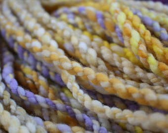 Brass to Sass - Handspun Targhee Art Yarn