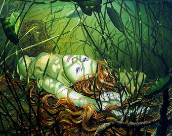 RW2 Mermaid Tapestry by Robert Walker