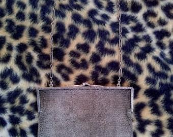 Vintage 1920s Silver Mesh Bag Deco Evening Bag Purse Stamped Tiffany & Co 2014c