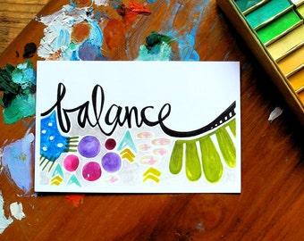 SALE - balance - 4 x 6 inches