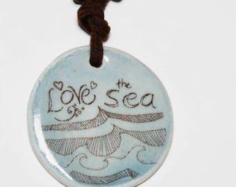 Love the Sea Pendant Necklace