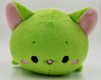 Ready to ship! ~ Baby Lime Green Neko Roll