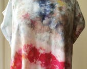 Hand Dyed Tank Dress in Painted Hills, Anna Joyce, Portland, OR