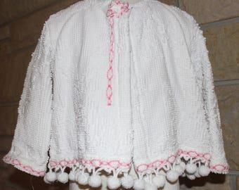 Vintage chenille jacket size 3/4T