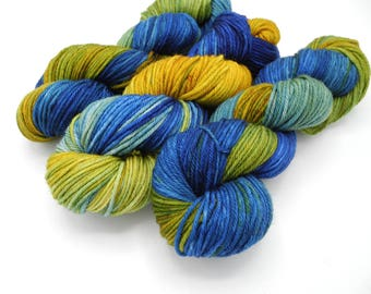 Very Starry Variegated Hand Dyed Pop Culture Yarn - Made to Order
