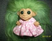 dress for 2-1/2-3 inch  troll doll