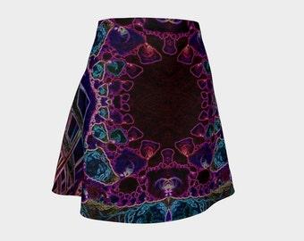 Flare Skirt 10-16-1