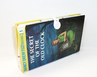Nancy Drew Book Clutch - Secret of the Old Clock Purse Handbag