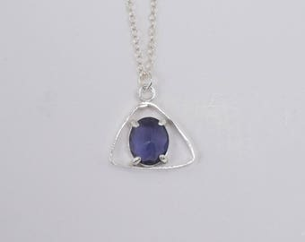 Purple Angle pendant