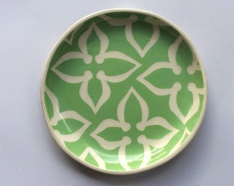 "Ceramic Lunch Plate 8""-dessert plate- appetizer plate"