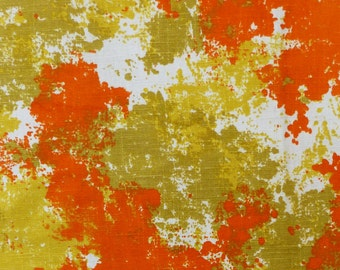 Vintage Upholstery Abstract Panel