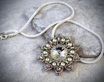 Elven Pendant - witchy pendant - witchy necklace - elven necklace - elven princess - wiccan jewelry - dark mori jewelry - strega jewelry