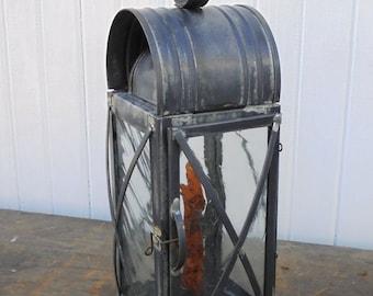 Brady's Heavy Duty Lantern - antiqued
