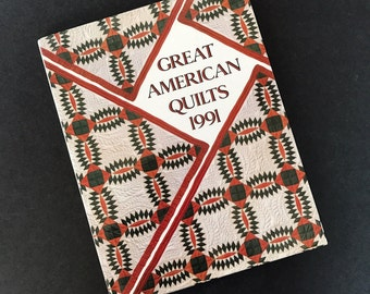 Quilt Book Great American Quilts 1991