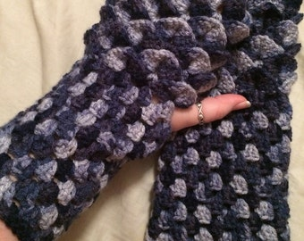 Dragon Gloves - Dragon Scale Gloves - Dragon Fingerless Gloves - Dragon Scale Fingerless Gloves - Dragon Cosplay Gloves