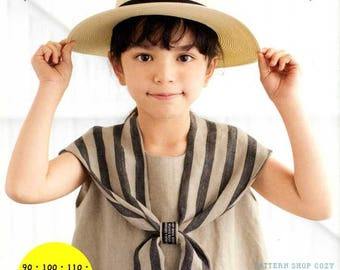 Cute Daily Clothes for Girls  - Japanese Dress Pattern Book