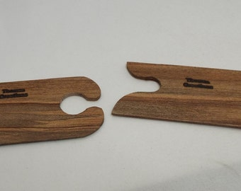mini- inkle loom shuttles - Ambrosia Maple- set of 2
