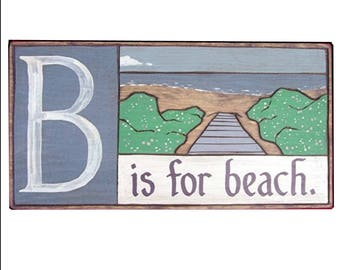 Beach, Alphabet Primer - B is for Beach
