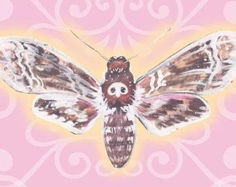 Death Moth Print