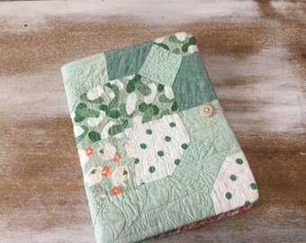 Scottie Dog feedback Quilt Journal - COMPOSITION Notebook Book Cover