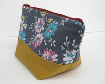 Medium Zipper Bag - Project Bag