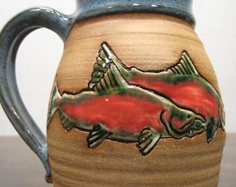Salmon  Mug ...................   a47