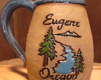 Eugene Oregon Mug  ......................