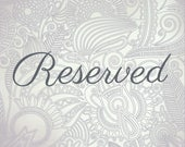 Reserved for Stephanie // Ketubah Marriage Certificate
