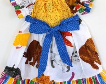 Brown Bear Brown Bear dress, Bear dress, birthday dress