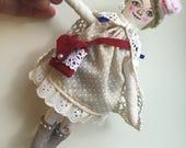 Tiny art doll