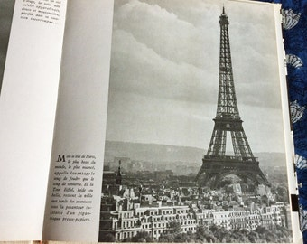 S A L E   Book Paris Que J'aime copyright 1956 with many photos - in French