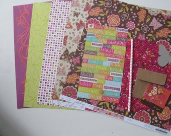 Do-It-Yourself-12x12 Scrapbook Kit #38, Scrapbook Page, Scrapbook Mini Album, Pre-Made Pages, Pre-Made Albums