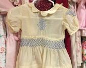 1920s Baby Dress 9/12 Months