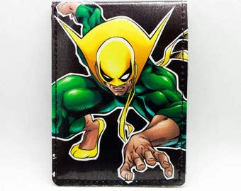 Sewn Comic Book Wallet - Iron Fist