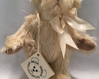 "Handmade Artist Bear by Bear Brown Collectibles ""Patrick"" Collectible Teddy Bear"