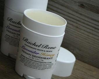 Lavender Honey - Vegan Deodorant Stick 2.5oz