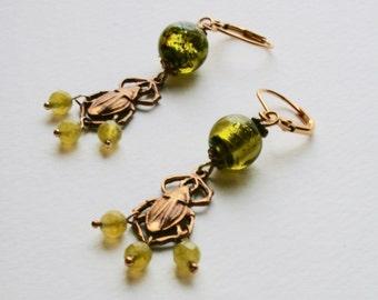 Beetle Bug Earrings