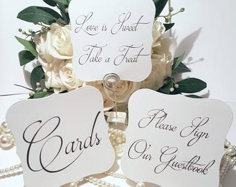 Wedding Table Signs, Card Signs, Guestbook Signs, Luxury Wedding Ideas, Centrepieces, Wedding Decorations, Table Decoration Ideas, UK Etsy
