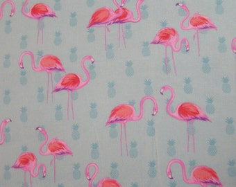 Fabric Traditions Flamingo Flannel Fabric