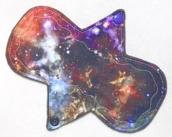 """7.25"""" Regular - Outer Space - Reusable Cloth Menstrual Pad (7MC)"""