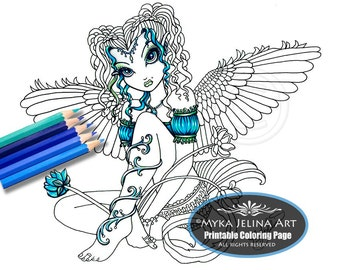 Etsy your place to buy and sell all things handmade for Myka jelina coloring pages