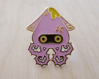 Lord Vampire Squid - Enamel Pin