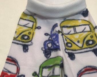 Volkswagen Anti Pill Fleece Shorties --- Diaper Cover